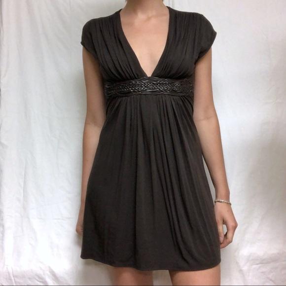 38899b43816 Sky Dresses   Mini Dress Brown With Braided Belt M   Poshmark